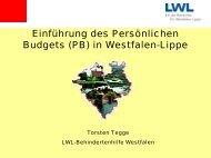 Persönliches Budget - HELIOS Kliniken GmbH