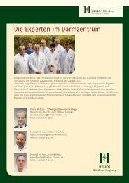 Die Experten im Darmzentrum - HELIOS Kliniken GmbH