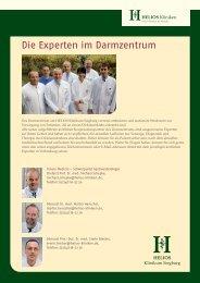 Unsere Experten - HELIOS Kliniken GmbH