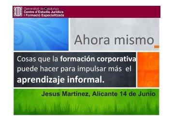 Informal Learning Corporativo - MBA & Educación Ejecutiva
