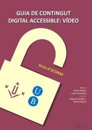 català - El vídeo sense barreres a la universitat - Universitat de Lleida