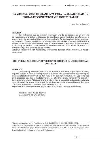 79 la web 2.0 como herramienta para la alfabetización digital en ...