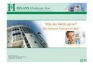 Die Eurythme Therapie - Andreas Bauer, Aue - HELIOS Kliniken ...