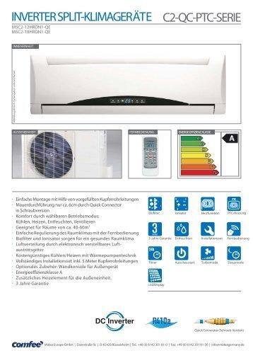 Klimaanlage mit Inverter-Split-System