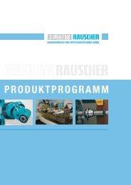 PRODUKTPROGRAMM - HELMUTH RAUSCHER