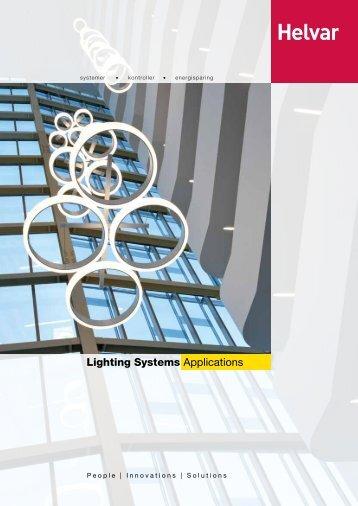 Lighting Systems Applications - Helvar