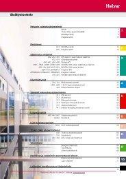 Valaistusjärjestelmien tuotteet - Helvar