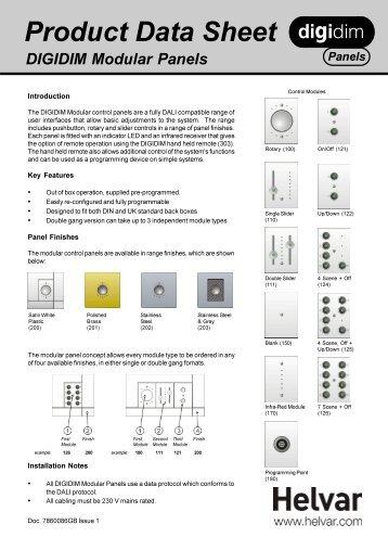Modular Panels.p65 - Helvar