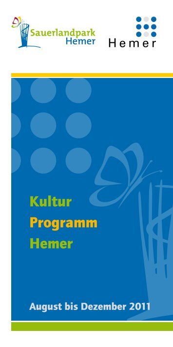 Kultur Programm Hemer