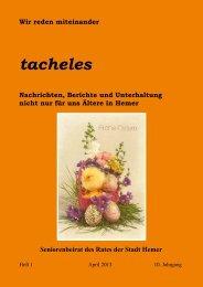 tacheles - Hemer