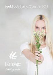 LookBook Spring / Summer 2013 - HempAge AG