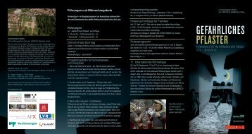 """Flyer """"Gefährliches Pflaster"""" (pdf, 1,1 MB) - Museen in Aalen"""