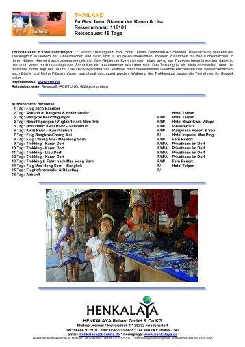 Download - Henkalaya - Reisen
