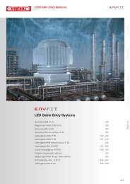 LES Cable Entry Systems - Hensel