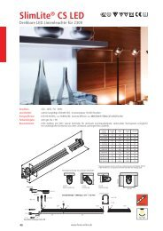 SlimLite® CS LED - Hera