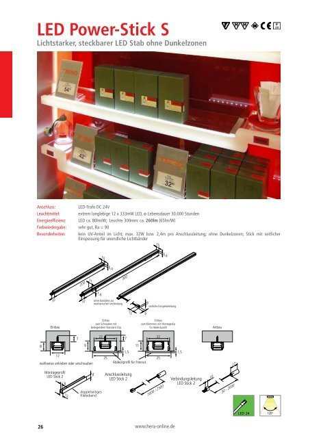 LED Power-Stick S - Hera