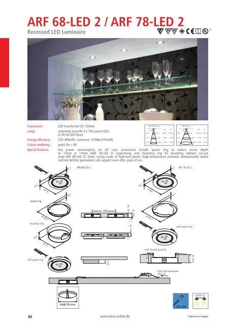 ARF 68-LED 2 / ARF 78-LED 2 - Hera