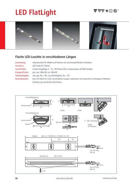 LED FlatLight - Hera