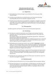 Benutzungsordnung Stadtbücherei (SSK) - Stadt Herbrechtingen