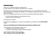 Dazu: Auszug aus der pauschalen WGV –