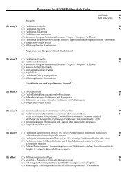 Programme der HERDER-Oberschule Berlin - Herder-Gymnasium ...