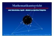 Mathematikunterricht - Herder-Gymnasium Berlin