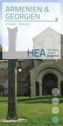 ARMENIEN & GEORGIEN - Hermann Ehlers Stiftung