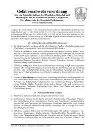 Gefahrenabwehrverordnung - Herleshausen
