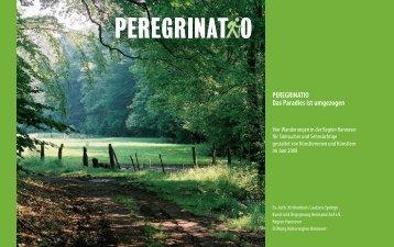 PEREGRINATIO Das Paradies ist umgezogen - Kunst und ...