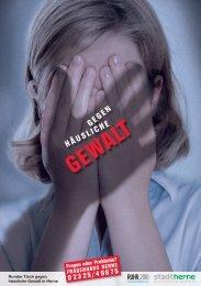 Broschüre Häusliche Gewalt - Stadt Herne