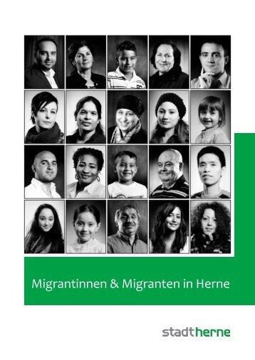 """Bericht """"Migrantinnen & Migranten in Herne"""" - Stadt Herne"""