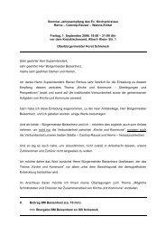 Rede beim Sommer-Empfang des Evangelischen ... - Stadt Herne