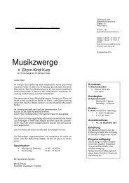 Musikzwerge - Stadt Herne