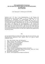 Link zur Verordnung - Stadt Herne