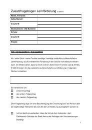 Zusatzfragebogen Lernfoerderung Herne neu - Stadt Herne