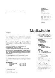 Anmeldeformular für die Musikwindeln - Stadt Herne