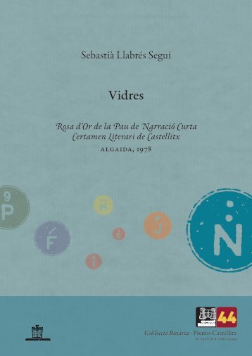 Premis Castellitx / Narrativa curta Vidres Rosa d'Or Narració ... - Zheta