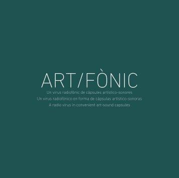ART/FÒNIC - Serafin Alvarez
