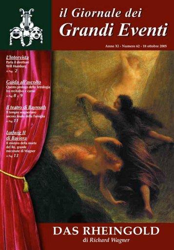 Das Rheingold (L'Oro del Reno) - Il giornale dei Grandi Eventi