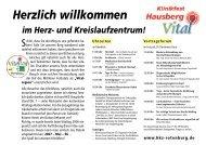 Hz. Klinikfest - Herz- und Kreislaufzentrum Rotenburg