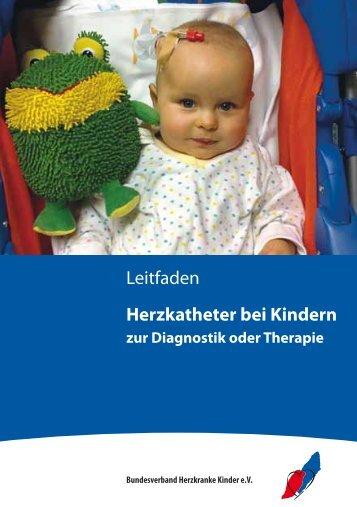 Leitfaden Herzkatheter bei Kindern - Herz-Kinder-Hilfe Hamburg eV