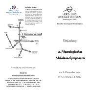 Einladung - Herz- und Kreislaufzentrum Rotenburg
