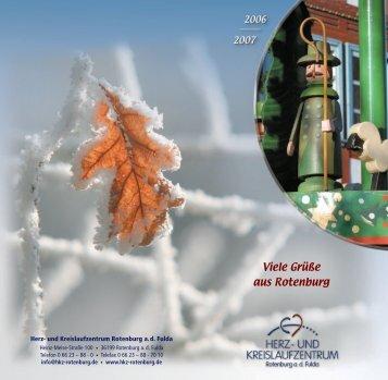 Viele Grüße aus Rotenburg - Herz- und Kreislaufzentrum Rotenburg