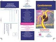 Flyer Symposium - Herz- und Kreislaufzentrum Rotenburg