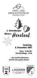 Winter-Herzlauf 07 einzeln - Herz- und Kreislaufzentrum Rotenburg