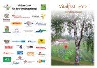 Zum Vitalfest-Faltblatt - Herz- und Kreislaufzentrum Rotenburg