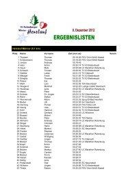 Ergebnisse 10. Winter-Herzlauf 2012 - Herz- und Kreislaufzentrum ...