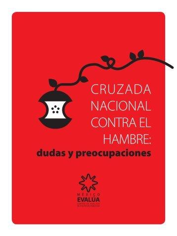 CRUZADA NACIONAL CONTRA EL HAMBRE: