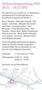 Einladung zur Ausstellung - Kunst- und Kulturverein ... - Page 2