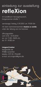 irmgard kreher - Kunst- und Kulturverein Herzogenaurach eV - Seite 2